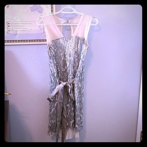 Cashmere and sequin dress GUC